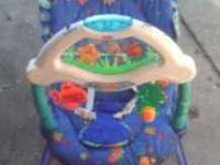 Fisher Price Aquarium Bouncy Seat. These vibrate, play