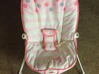 I have a Fisher Price Baby Bouncer - Pink Butterfly for