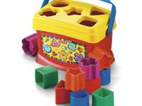 Baby's First Blocks by Fisher-Price has 10 bright
