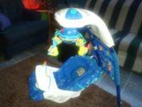 I am selling my Fisher Price Aqua baby swing. It is in