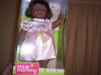 Fisher Price Black Doll . New in the box. Doll 14