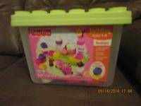 Fisher price blocks in original container 4.00