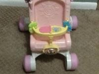 Fisher-Price Brilliant Basics Stroll-Along Walker from