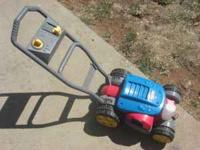 Fisher Price Bubble Mower Selling because my little one