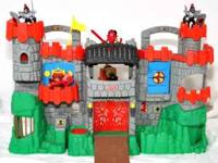 Fisher Price castle. Folds up for transport and