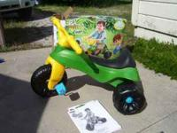 I have a new Fisher Price Diego trike pedal 3 wheeler