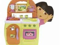 Dora's Talking Kitchen by Fisher Price - in great shape