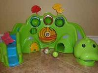 Fisher-Price Roll-a-Round Drop & Roar Dinosaur $10 -in