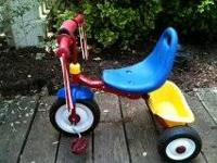 Fisher Price fld n go tricycle. Great used condition.