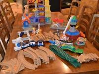 I have 5 big containers of Fisher Rate GeoTrax. My