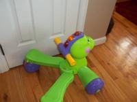 Fisher-Price Go Baby Go! Stride-to-Ride Dino. Perfect