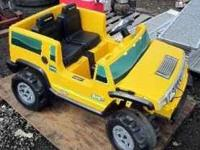 Little Tikes H2 Hummer; Includes Charger and New