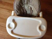 Fisher-Price high chair. This chair is amazing because