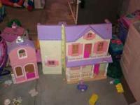 Fisher price house please call Krissy @ cash only! OBO