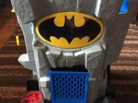 Gently used fisher price imaginext bat cave. Does not