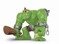 The Fisher-Price Imaginext Castle Ogre is a new twist