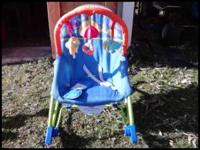 Fisher Price Infant to toddler rocker in excellent