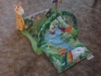 Excellent condition jungle playmat from a smokefree and
