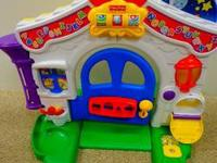 Fisher price learning home in good condition. This was