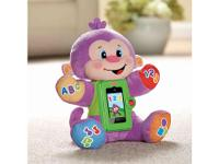 The Apptivity Monkey is an interactive plush learning