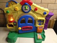 Fisher Price Laugh & Learn Learning Home features all