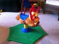 Fisher-Price Laugh & Learn Smart Bounce & Spin Pony