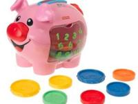 Fisher-Price Laugh & Learn: Learning Piggy Bank, for