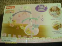 FISHER PRICE LITTLE BUTTONS SLEEPYTIME MUSICAL MOBILE