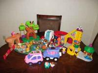 I have Little People toys for sale - 128 pieces! They