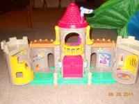 fisher price little people playsets...castle set and