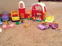 Fisher Price Little People set. House with furniture,
