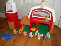 Fisher Price Little People Animal Sounds Farm. Perfect