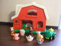 Fisher Price Little People Farm Set. This is used but
