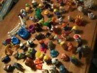 Fisher Price Little People lot of over 100 pieces. All