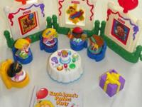 Selling the Fisher Price Little People Musical Birthday