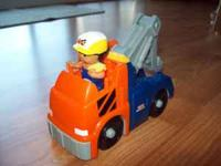 This is the Fisher Price Little People Fix em Up tow