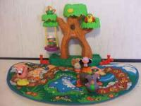 Fisher Price Little People Zoo Island. This is used,