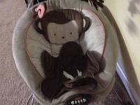 Little SnugaMonkey Baby Bouncer. Barely utilized.  For