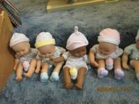 Fisher price loving baby dolls 3.00 each.