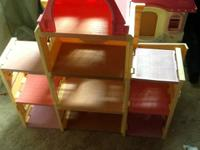Large Fisher Price Loving Family Dollhouse - could also