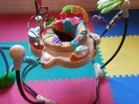 This Jumperoo is in excellent used condition. My twins