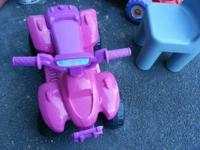 Little Fisher Price Motorcyle  Perfect Condtion
