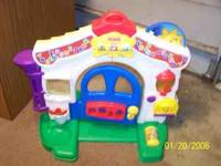 fisher price laugh and learn playhouse in excellent