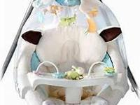 This is a Fisher Price My Little Lamb Cradle Swing,