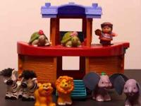 FISHER PRICE NOAH'S ARK LITTLE PEOPLE We have a