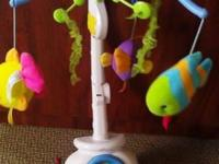 This a gently used Fisher Price Ocean Wonder Projection