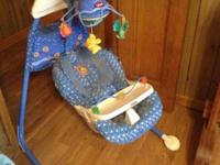 Fisher Price Ocean Wonders Aquarium Cradle.....Good