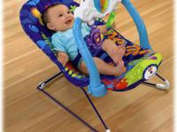 Fisher Price Ocean Wonders Calming Vibrations Bouncy