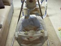 Selling off a fisher Price Papasan Cradle Swing