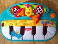 Like new..... Fisher Price Piano Please call:  or